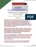 AutCode 3.0