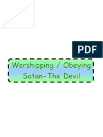 Obeying Satan-(the Devil)