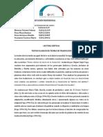 Précis 1 - TEXTOS CLASICOS DE TEORIA DE TRADUCCION