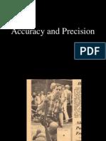 Accuracy & Precision - Gun Shooting