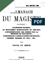 Encausse Gerard - L Almanach Du Magiste 1897