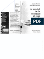 Sánchez Carrión, J. (2000) - La Bondad de la Encuesta