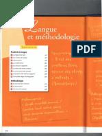 Langue Et Methodologie@Vers Bac