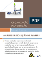 Organização da manutenção (UFCD3421) 1_2_3_4_5_6_7