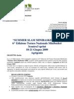 Invito e programma SSM 2009