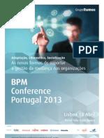BPM Conference Portugal 2013 - Leaflet