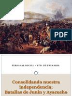 Batallas de Junin y Ayacucho