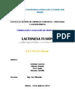 PONTIFICIA UNIVERSIDAD CATÓLICA DEL ECUADOR SEDE IBARRA FUSION EXAMEN FINAL