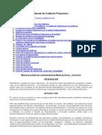 Manual de Auditoria Financiera I