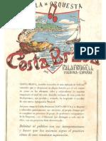 CANÇONER DE PRESENTACIÓ COBLA-ORQUESTRA COSTA BRAVA 1956