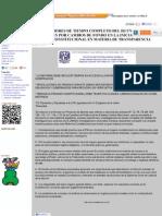 Investigadores de Tiempo Completo Del Iij Unam Se Pronuncian Por Cambios de Fondo en La Iniciativa de Reforma Constitucional en Materia de Transparencia