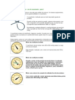 Medir depressão no coletor - uso do vacuometro