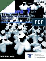 """""""Estética, Corporalidad y Política"""", Revista de Humanidades Populares Vol.7"""