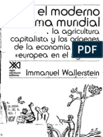 Wallerstein El Moderno Sistema Mundial