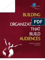 Building Arts Organizations That Build Audiences
