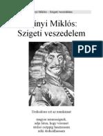 Szigeti Veszedelem - Zrinyi Miklós