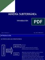 1 Introduccion-Mineria Subt