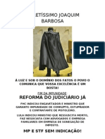 MERETÍSSIMO JOAQUIM  BARBOSA