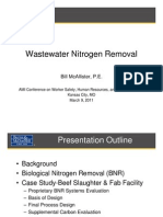 Wastewater Nitrogen Removal