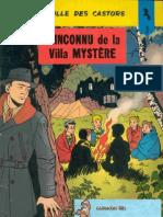 BDFR - LA PATROUILLE DES CASTORS - 03 - L'Inconnu De La Villa Mystère