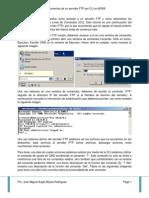 Acceder y Administrar Documentos de Un Servidor FTP Por CLI en WS08