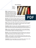 Fabric Definitions