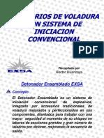 Accesorios de Voladura Con Sistema de Iniciacion Convencional