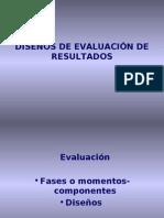 3[1]. Diseños de Evaluación de resultados