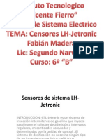Censores de Sistema Lh-JETRONIC