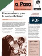Revista Paso a Paso 64 - Planteamiento y Sostenibilidad en Las Comunidades