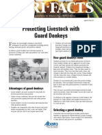 Protecting Livestock With Guard Donkeys, Govt. of Alberta