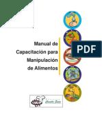 Manual Del Manipulador Del Alimentos Consorcio COMIDA SANA