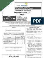 Funcab 2013 Seduc Ro Professor Artes Prova
