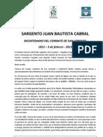 Bicentenario J.B.cabral