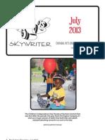Durham Skywriter — July 2013