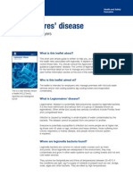 Legionnaires Disease - A Guide for Employers