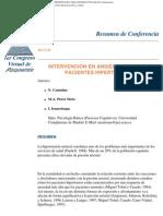 Intervencion en Ansiedad e Ira en Pacientes Hipertensos