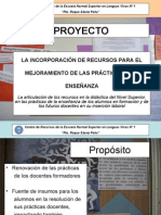 PRESENTACION PROYECTO 2009
