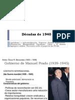 Décadas de 1940 y 1950