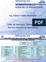 FACTORES QUE INFLUYEN EN LA PRODUCTIVIDAD DEL MECANIZADO.ppt