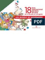 Catálogo 18 FIL Lima 2013