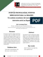 Actas SIC08 - Nuevas Tecnologías, nuevos mercados para la imagen