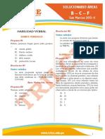 Solucionario San Marcos 2013-II (Letras)