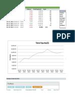 Excel Stock Portfolio