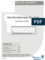 Manual de Usuario AIRE YORK
