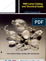 Venture Lighting Lamp Catalog 1989