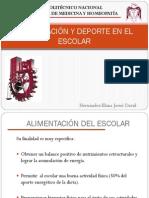 ALIMENTACIÓN Y DEPORTE EN EL ESCOLAR