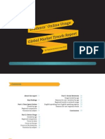 Students Online Usage Global Trends Report 2013 Nc