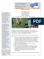 March - April 2009 Newsletter