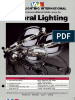 Venture Lighting Metal Halide Lamp Bulletin